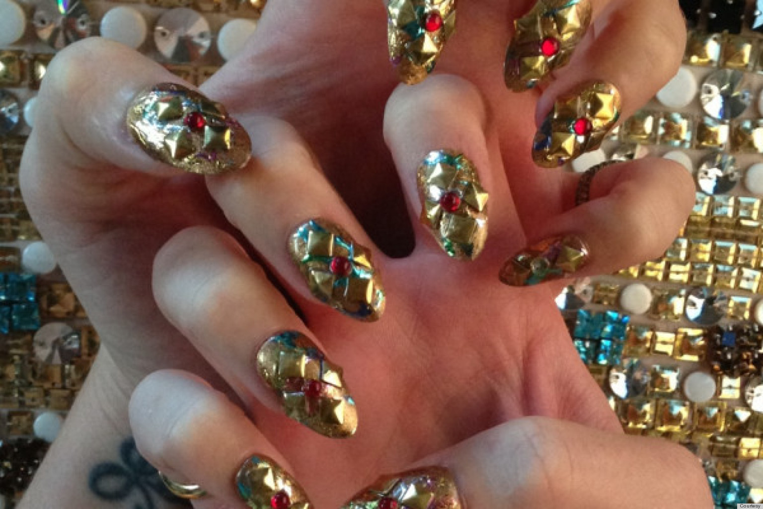 Punk Nails Reach New Heights At The 2013 Met Gala Photos Huffpost