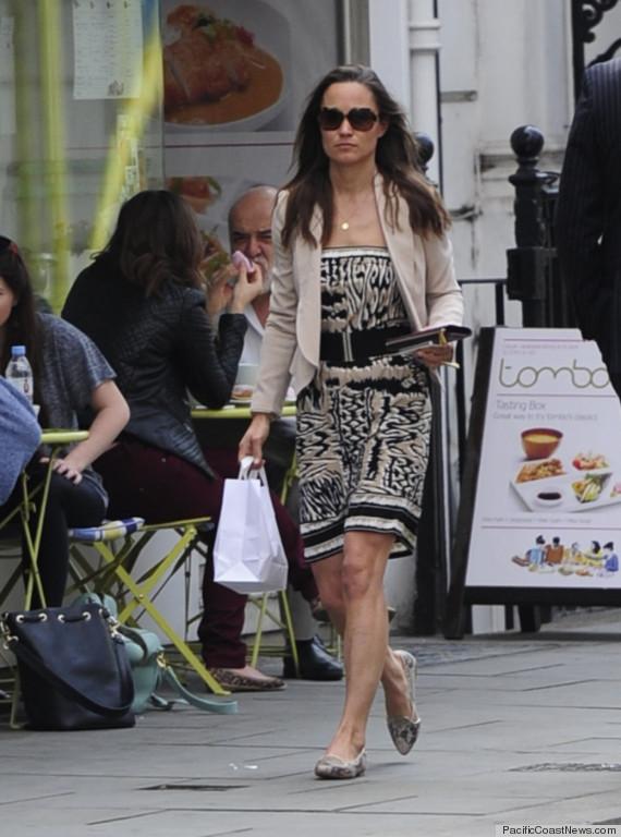 pippa middleton strapless dress