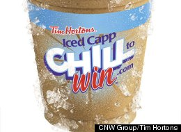 Chill To Win Tim Hortons