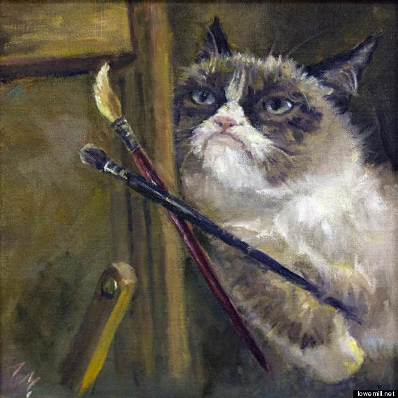 lowe mill grumpy art