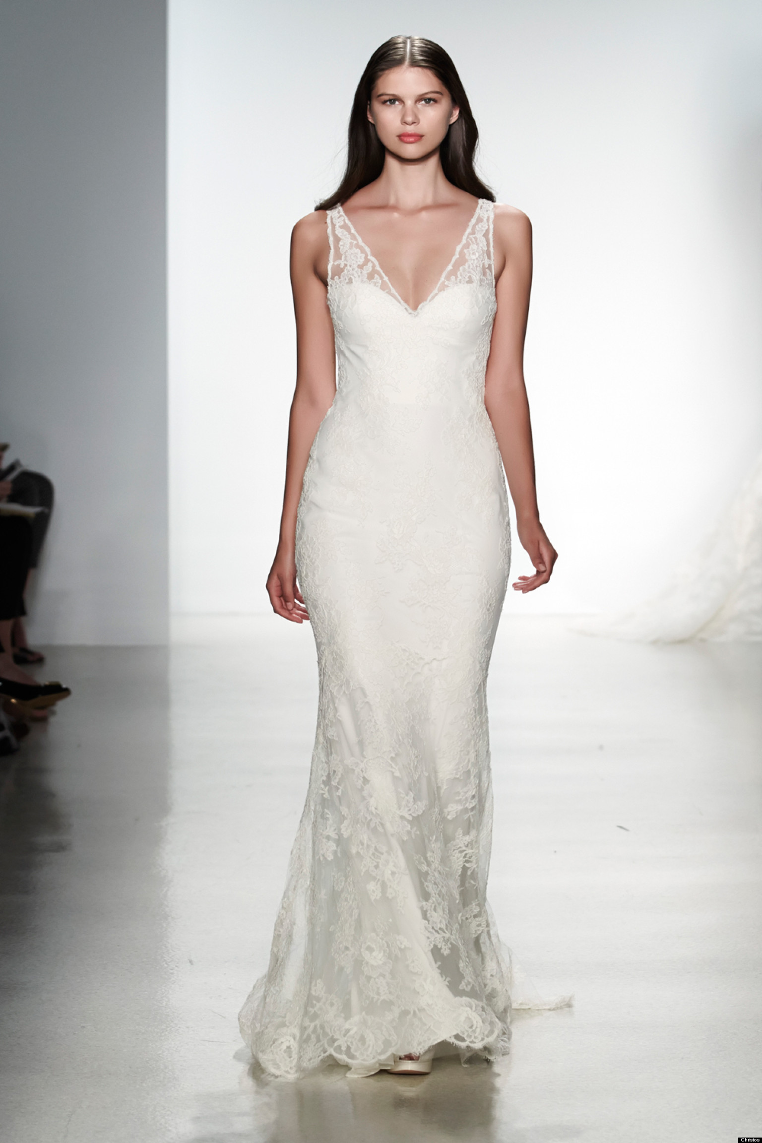 Choosing the best wedding gown for your body type huffpost for Wedding dresses for big chest
