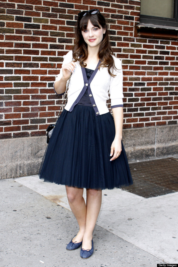 zooey deschanel hot style