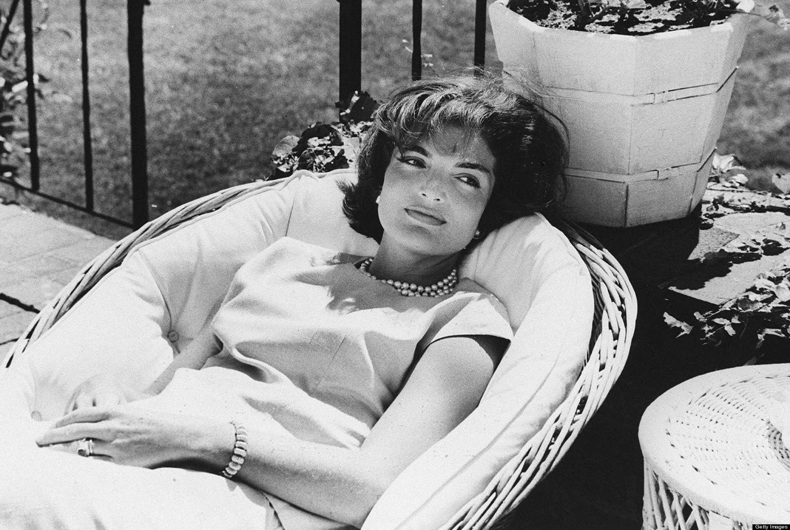 Musings Jackie Kennedy Onassis They Say She Was A Flower Child