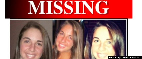 Paige Aiello Missing  Missing Person Posters