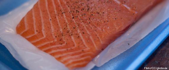 Suede Saumon Dioxines