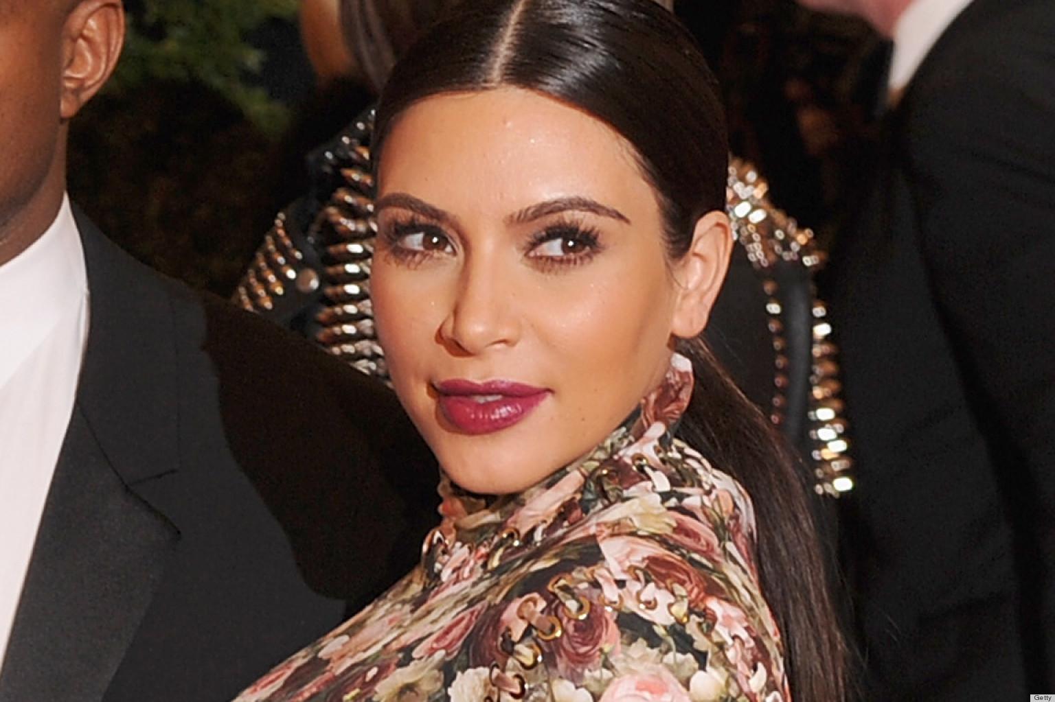 Riccardo Tisci Defends Kim Kardashian's Met Gala Dress