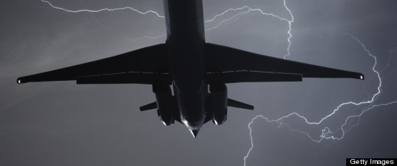 Plane Struck By Lightning