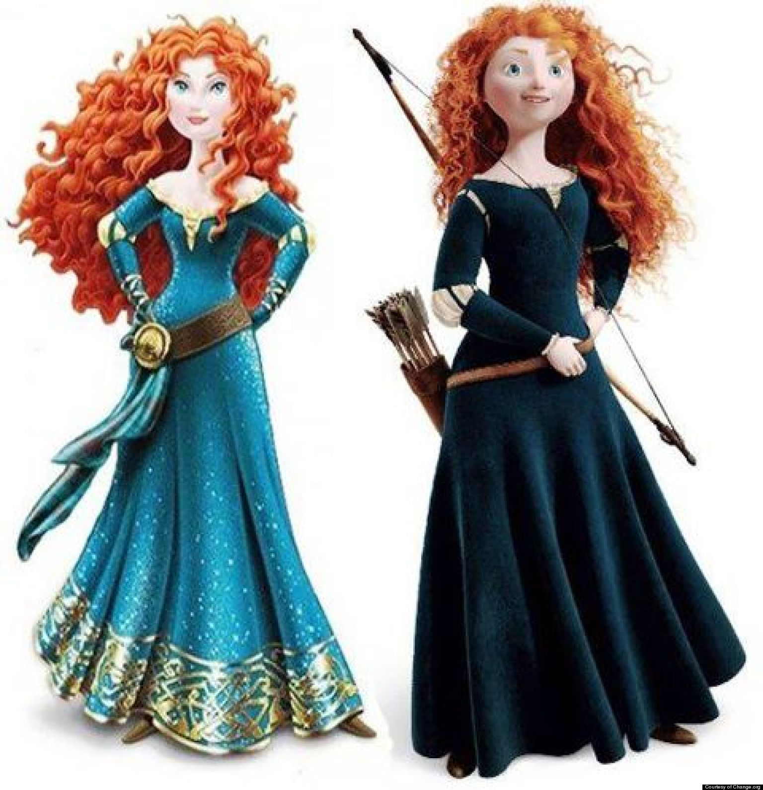 Merida From Brave Gets An Unnecessary Makeover Sparks