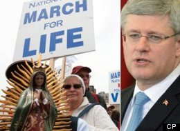 Stephen Harper March For Life Abortion