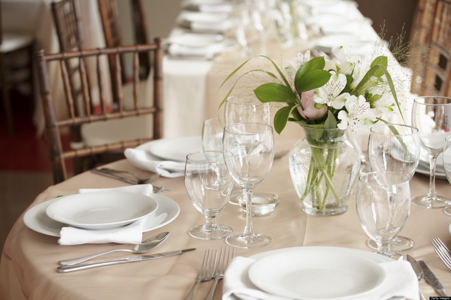 Dining Etiquette Setting A Welcome Table Huffpost