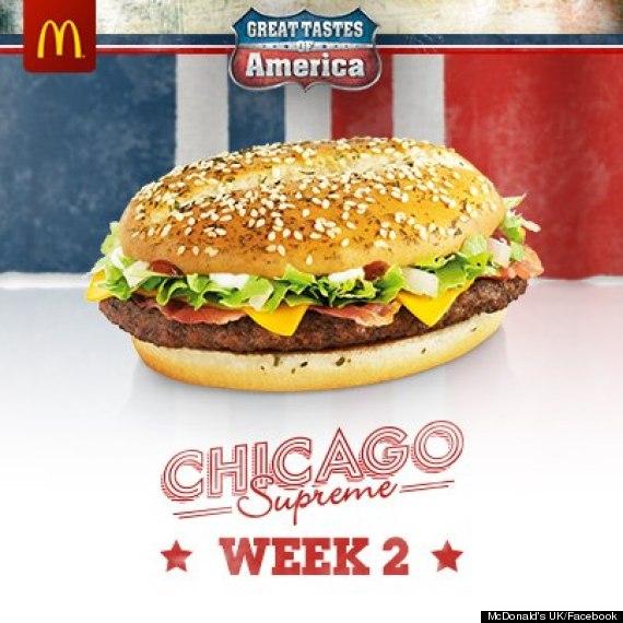 british mcdonalds chicago supreme burger