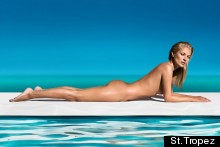 Kate Moss Is The New Face And (Naked) Body Of St Tropez