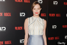 A Brunette Kate Bosworth Shows Us How To Do The Metallic Trend