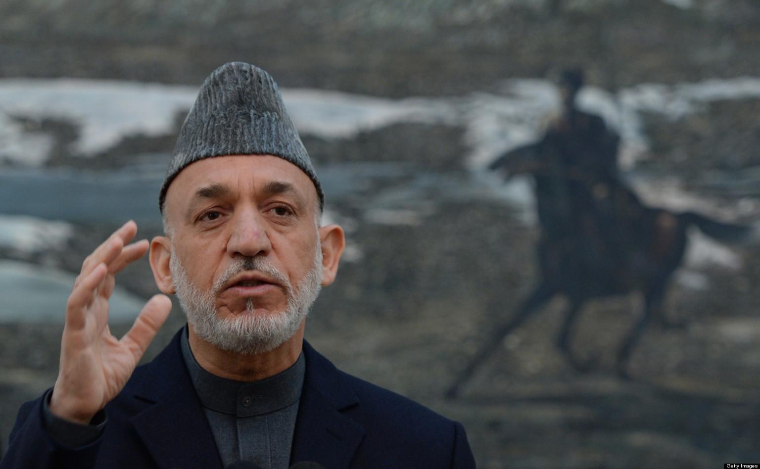 U.S. Can Keep 9 Bases In Afghanistan, Karzai Says
