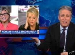 Jon Stewart Mocks Nancy Grace