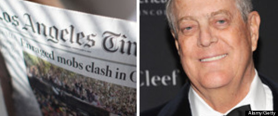 Los Angeles Times Koch Brothers