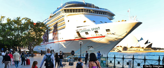 Cruise Passengers Fall Overboard