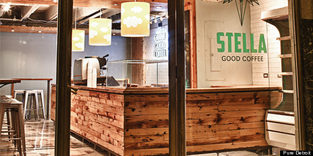 Stella good coffee detroit coffee shop re opens in for Coffee shop design software