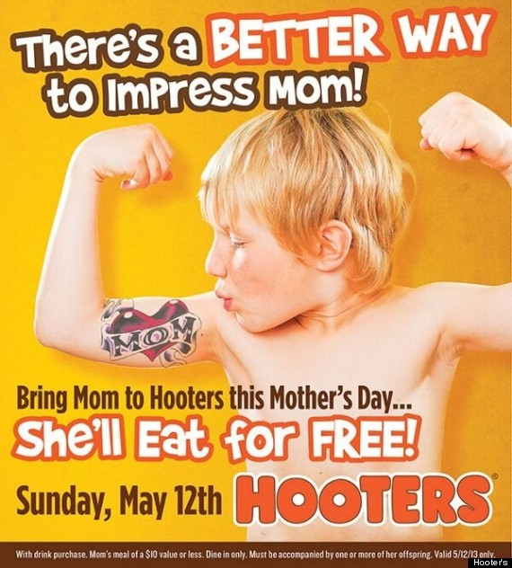 hooters mothers day