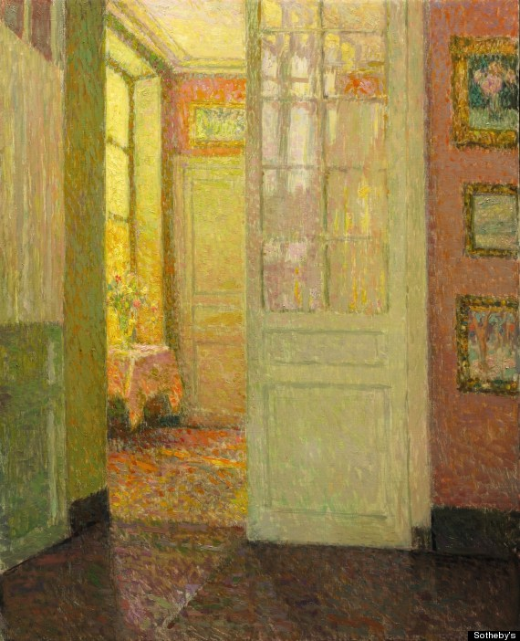 henri le sidaner painting found