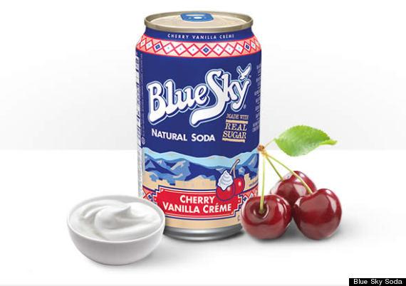 blue sky soda