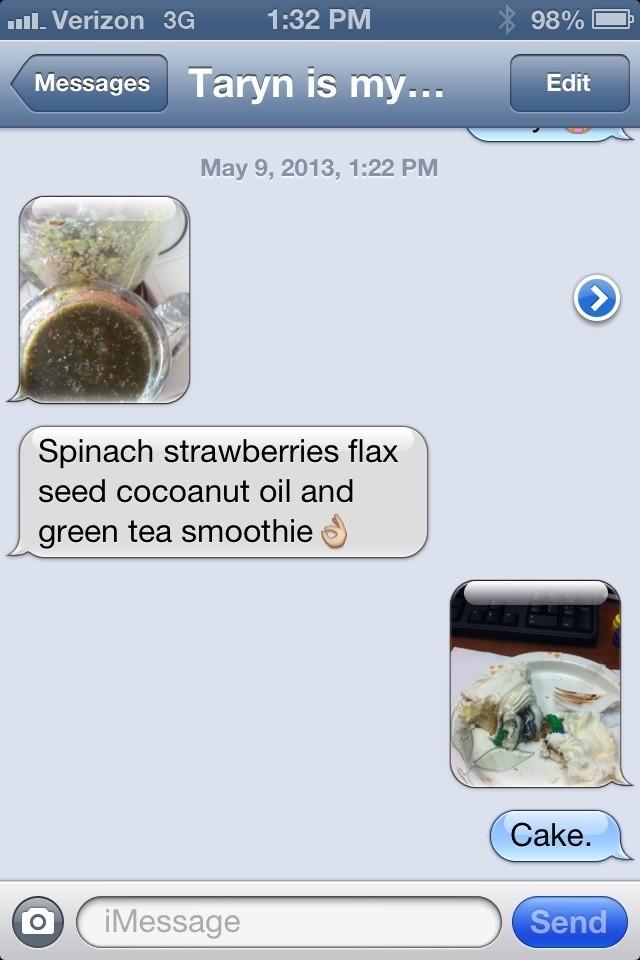 annoying diet text
