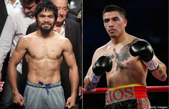 Brandon Rios vs. Manny Pacquiao
