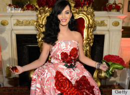 That's Quite A Dress There, Katy