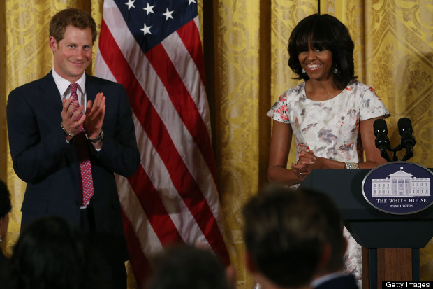 prince harry meets michelle obama