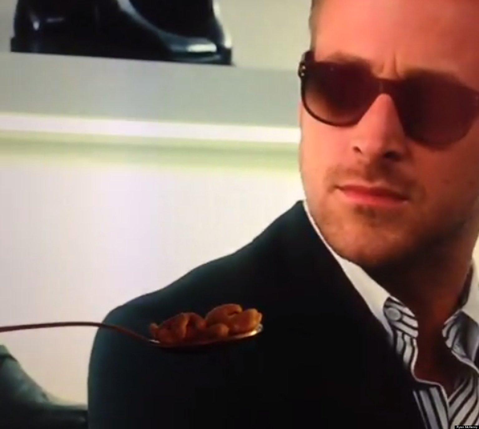 Ryan Gosling Won't Eat...