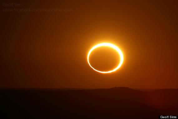 australian eclipse
