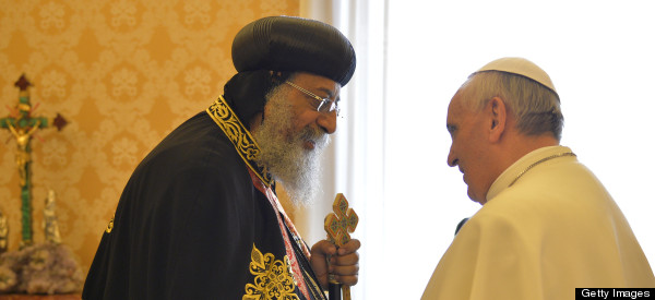 Coptic And Catholic Popes Meet At Vatican