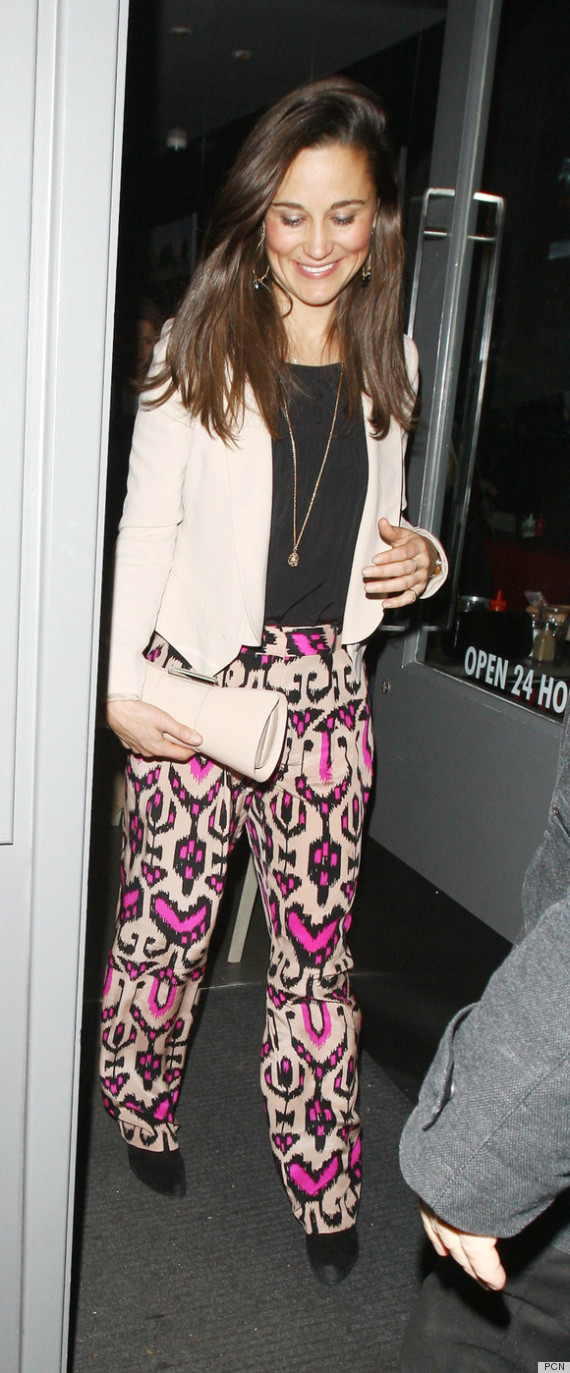 pippa middleton pattern pants