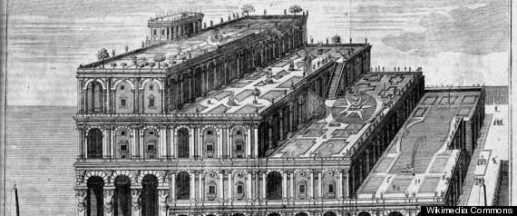 HANGING GARDENS OF BABYLON MISLABELED