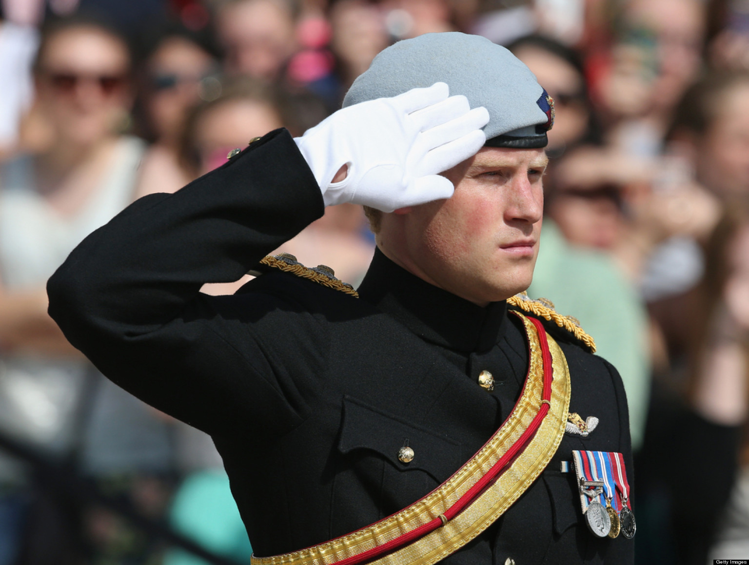 LOOK: Touching Note Prince Harry Left At Arlington Cemetery