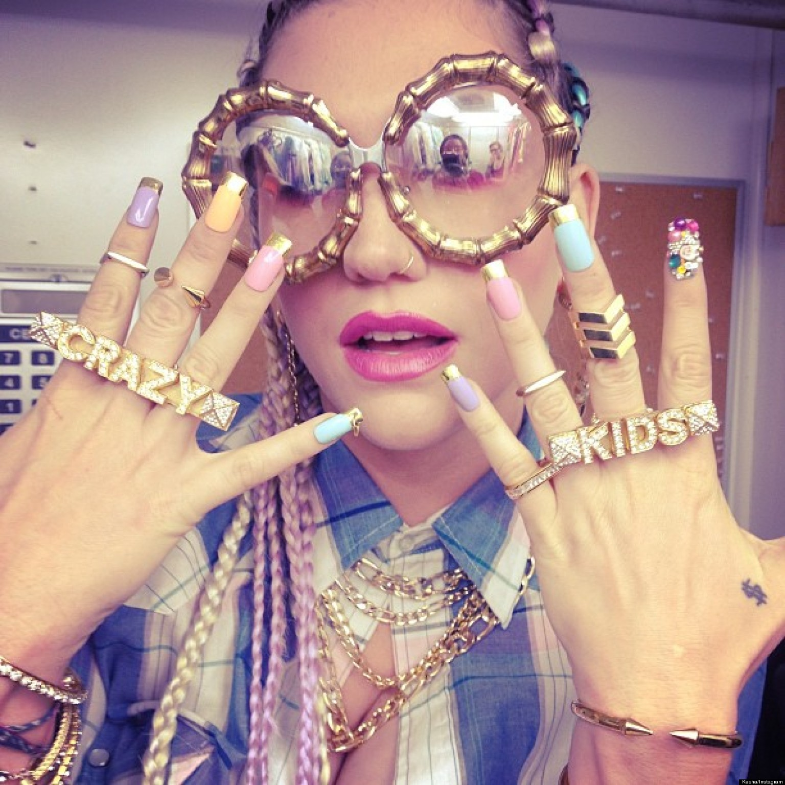 Ke$ha Crazy New Look