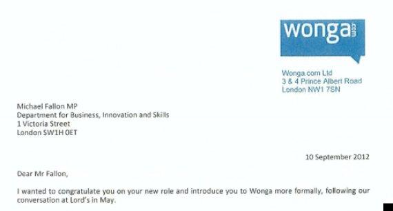 wonga letters
