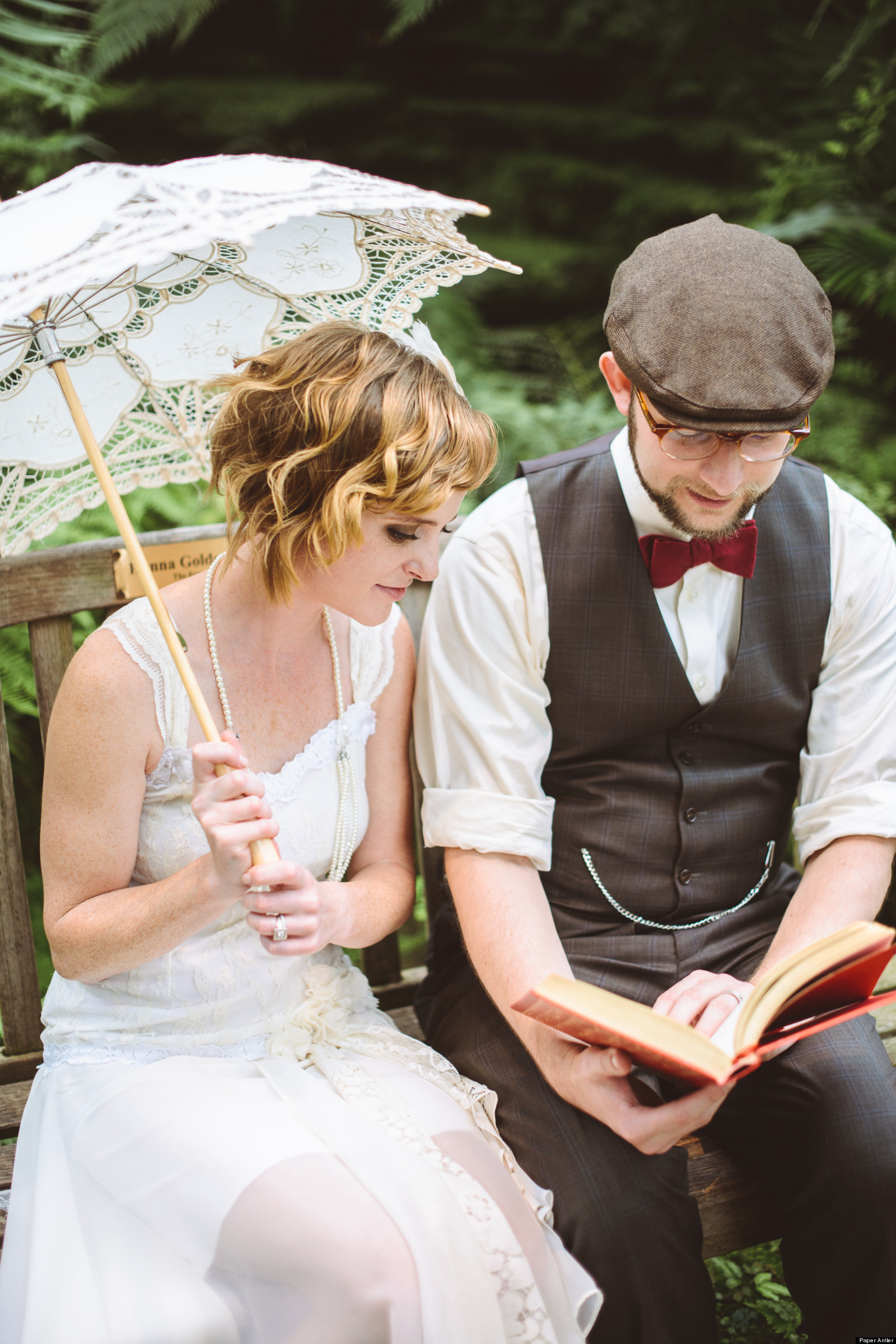 Real Weddings: 'Great Gatsby'-Inspired Nuptials (PHOTOS