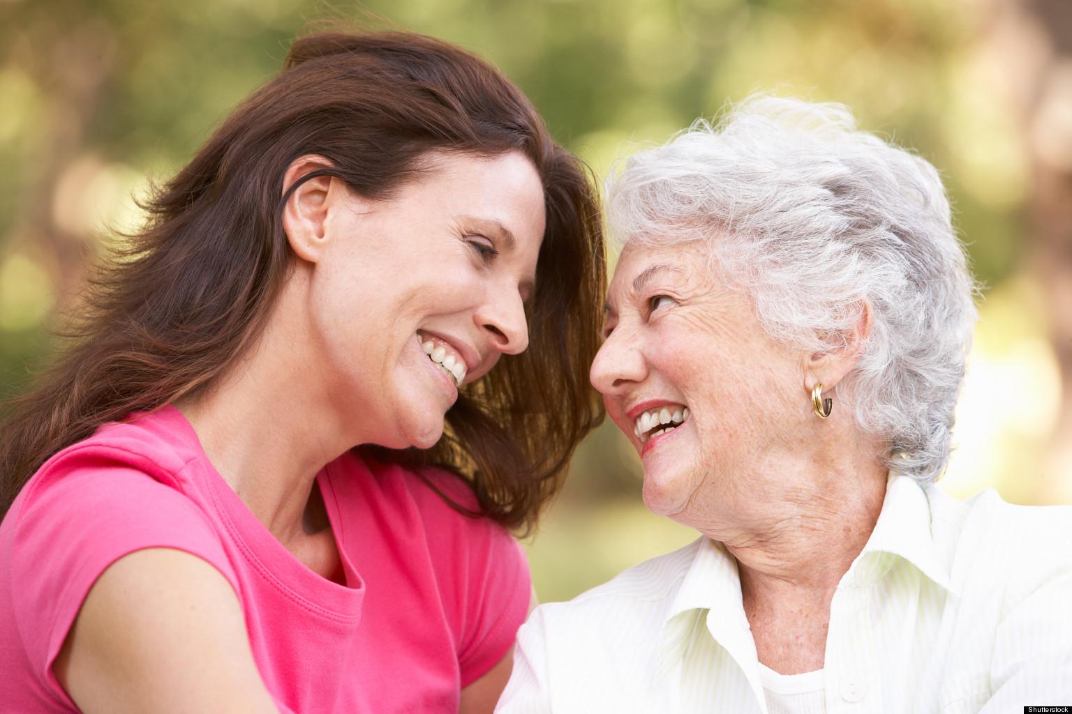 Фото бабушек и мам 12 фотография