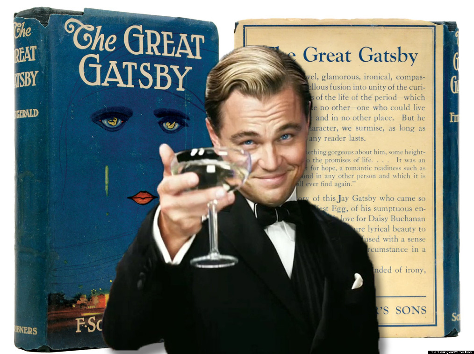 A description of the great gatsby author f scott fitzgerald