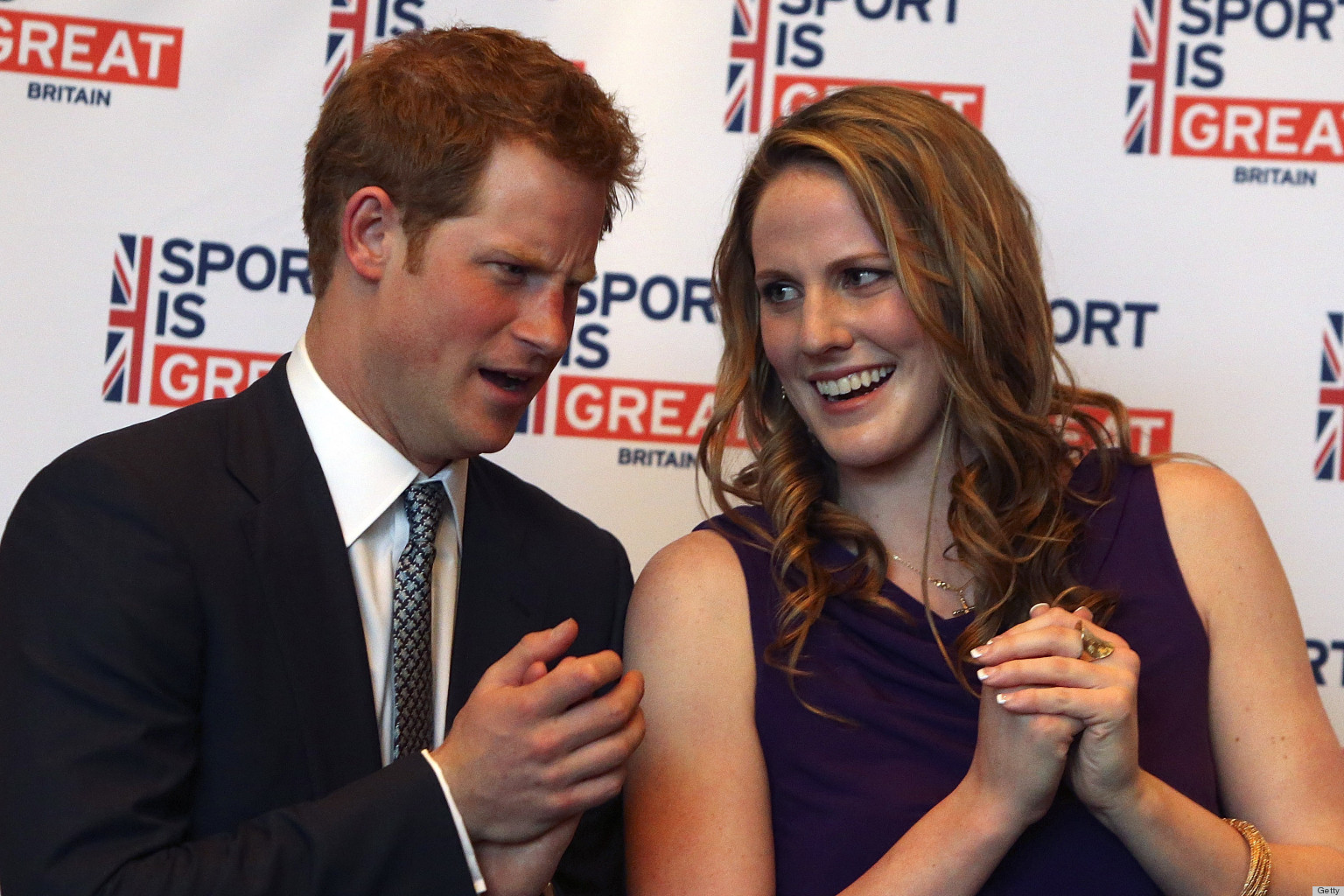 PHOTOS: Prince Harry Is One Athlete's 18th Birthday Present