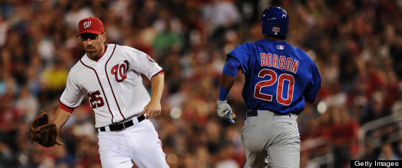 CUBS FALL TO NATIONALS