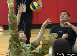 Prince Harry Plays Ball In America