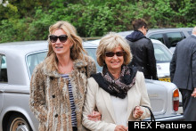 Meet The Parents: Kate Moss Does Head To Toe Animal Print For Date With In-Laws