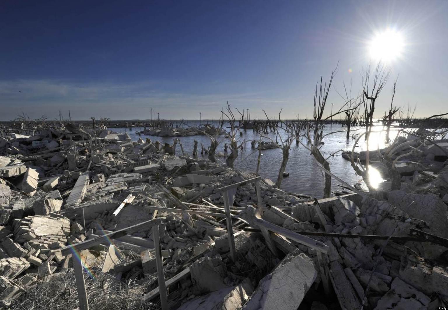 Epecuen argentina 39 s 39 atlantis 39 reemerges as a tourist for Villas en argentina