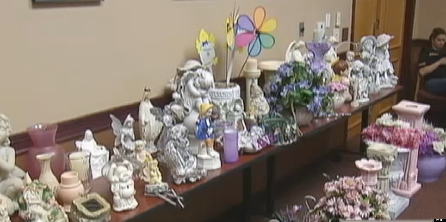 Accused Grave Robber Decorates Home With Cemetery Loot