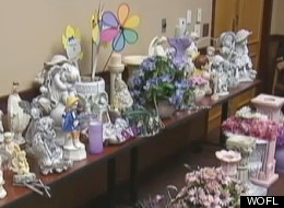 Waste not: Woman accused of stealing items from cemetery to decorate home