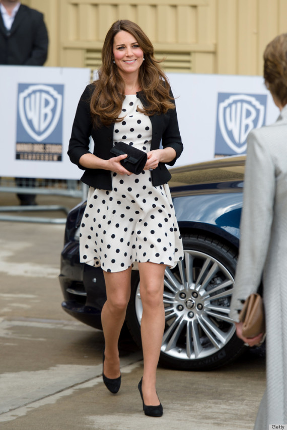 Kate Middleton Outfit Repeats Might Have An Official Due Date Photos Huffpost