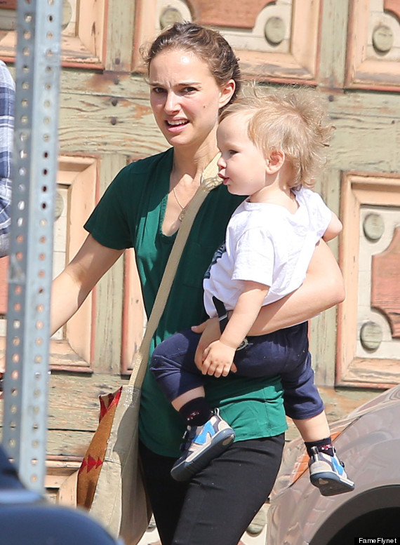 Natalie Portman's Son Aleph Has Gotten So Big (PHOTOS ...