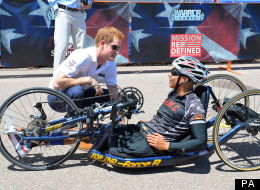 LOOK: Prince Harry Kicks Off US Warrior Games